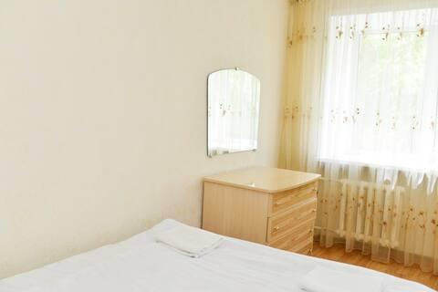 Светлая и уютная двухкомнатная квартира