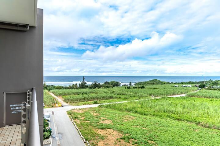 ☆Ocean resort top floor☆6名様まで宿泊可!青の洞窟・天然ビーチまで徒歩圏内!