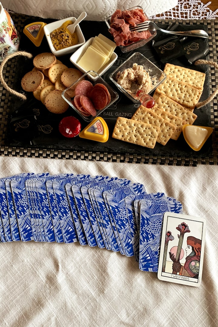 Yes, Tarot and Charcuterie