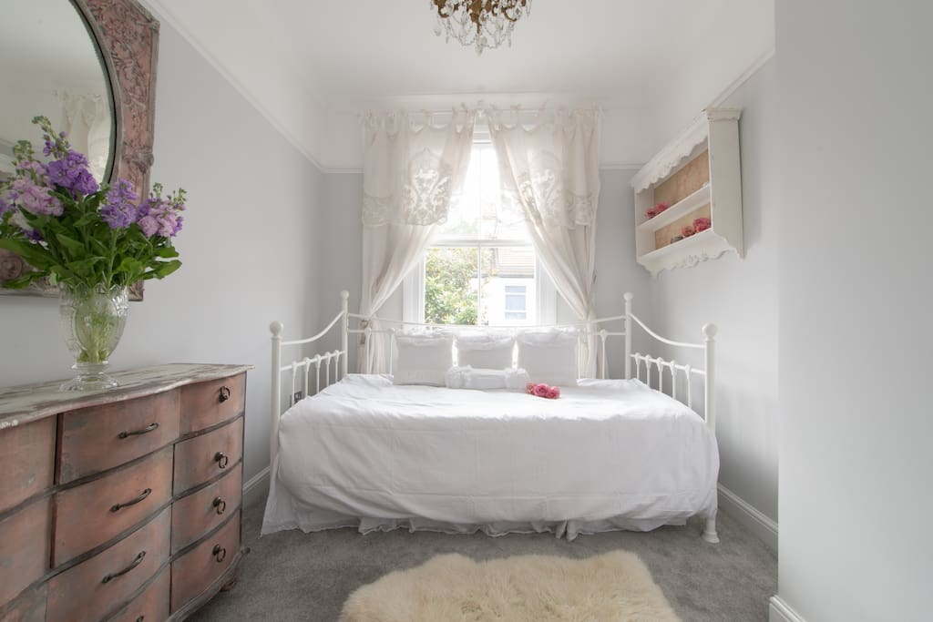 Beautiful single French inspired bedroom