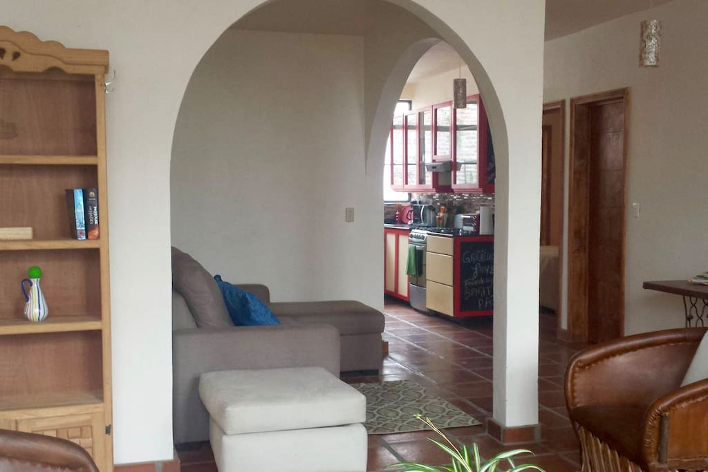 Entry / living area