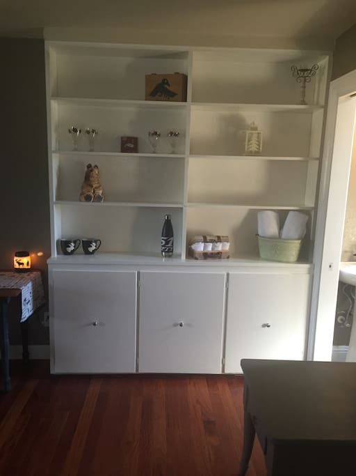 Storage for long term stays