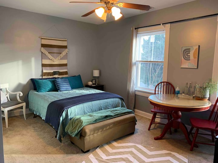 Large, Sunny Room in Historic Church Hill Home