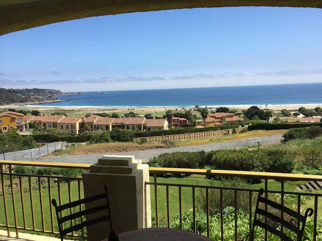 Beautiful views in Marvelous apartment in Quintay - Quintay - Pis