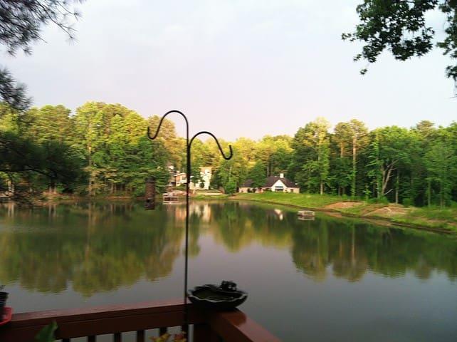 Green Lakeside Living: Organic (Foods Optional) - Roswell - House