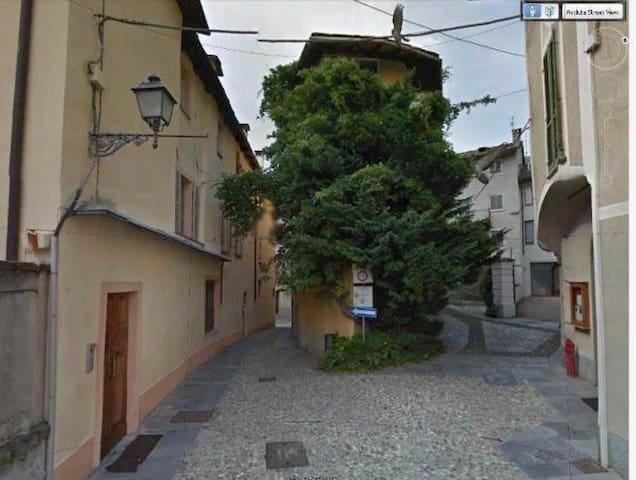Pittoresca dimora nel centro storico di Varallo