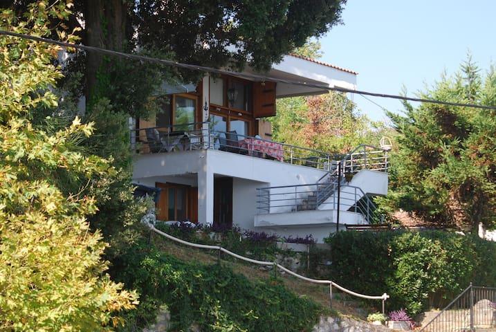 Beachfront Villa - Porto Voulis - Platamon Castle - Platamon - House