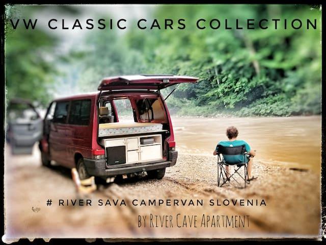 RIVER SAVA CamperVan VW T4 SYNCRO LPG @ LJ Airport