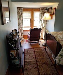 Comfy Washburn room;   Bayfield, Big Top, trails!