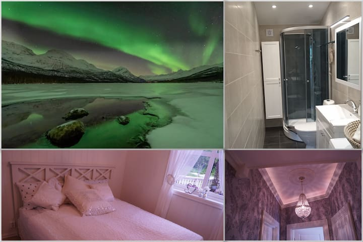 Northern lights and nature 4 bedrooms, 2 bathrooms
