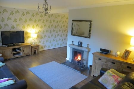large holiday home  to explore Scotland from