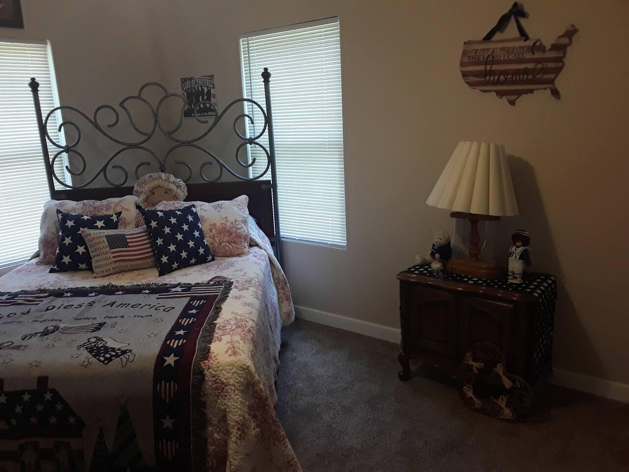 The Patriotic bedroom