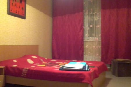 уютная однокомнатная квартира на сутки ,часы - Podolsk - Apartmen