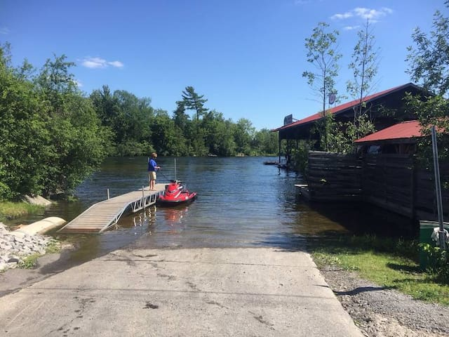 Public Boat Launch seconds from the Bunkies