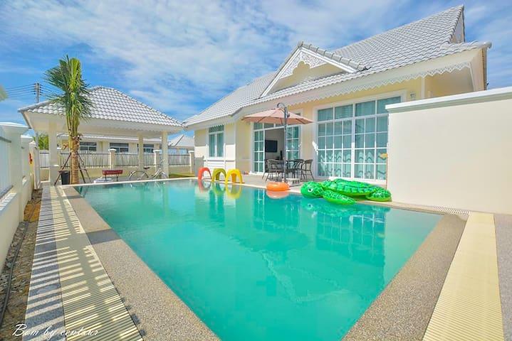 3Br Pool Villa @Baan Praram6 - SHR072 - TH - Casa