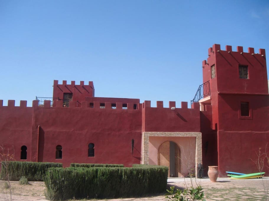 Front of the Riad