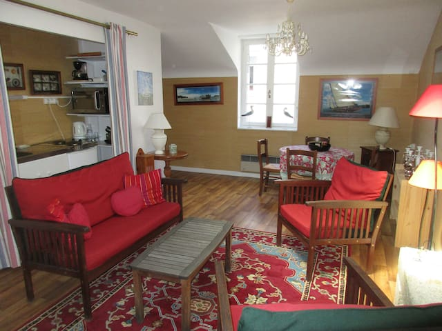 Appartement indépendant centre - Plancoët - Lägenhet