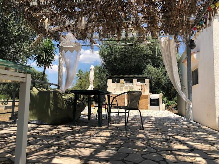 Hübsches Haus im Olivenhain mit tollem Meerblick!