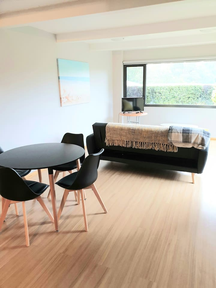 Sunny, spacious flat,very central.