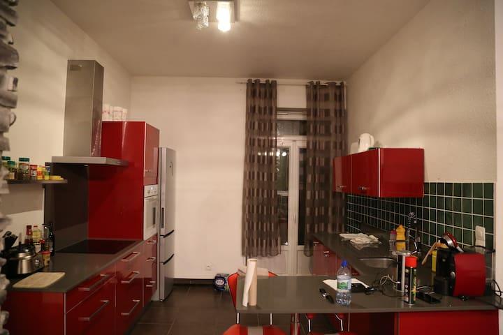 Chambre privative dans charmant appartement