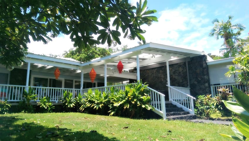 New Summer Rates! For Our Gorgeous, Renovated Home with Private Beach, Surfing, and Snorkeling Across the Street