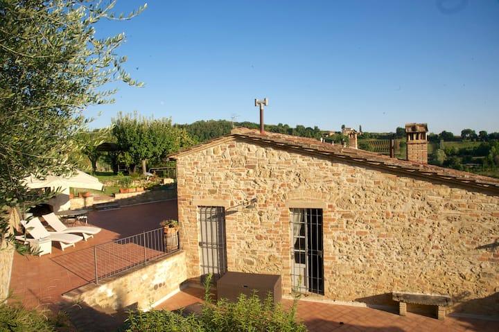 Casa Poggiagrilli con piscina privata