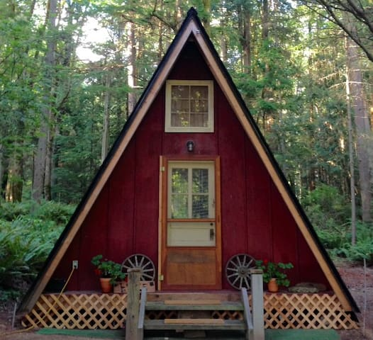 Private Redmond Cottage in the woods - Redmond - Cabin