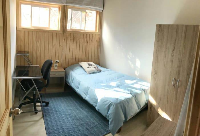 Great room2 habitacion acogedoraencabañacompartida