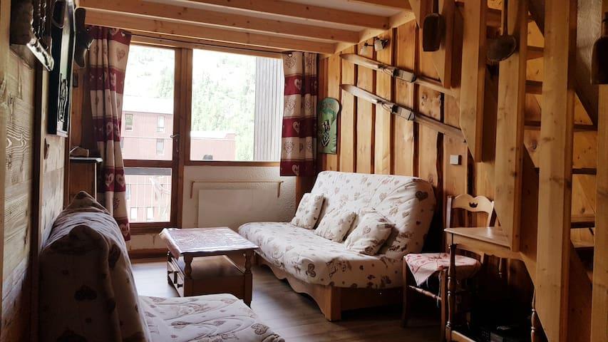 Appartement 2 pieces duplex dernier étage