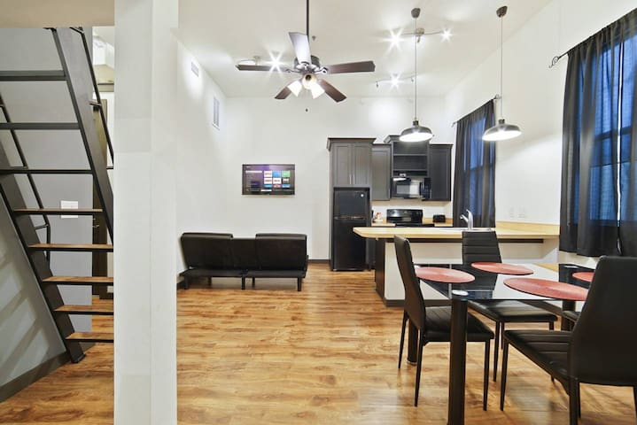 Loft Style Living in Downtown Tampa Unit #101