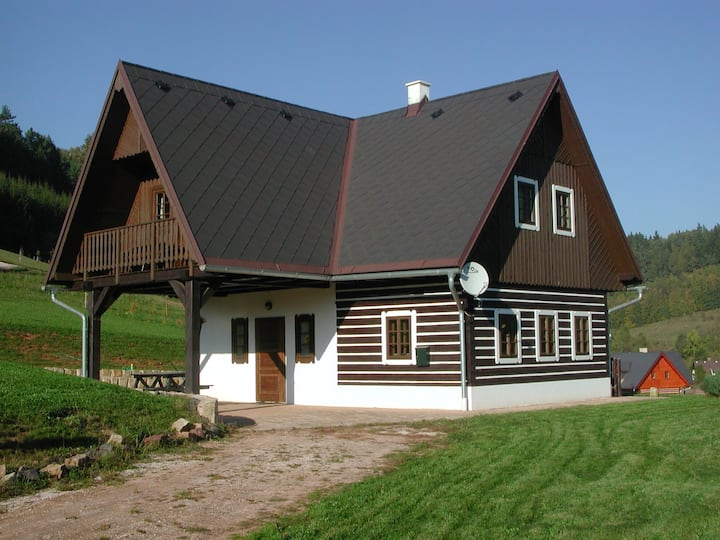 Bohemian holiday home Stupna