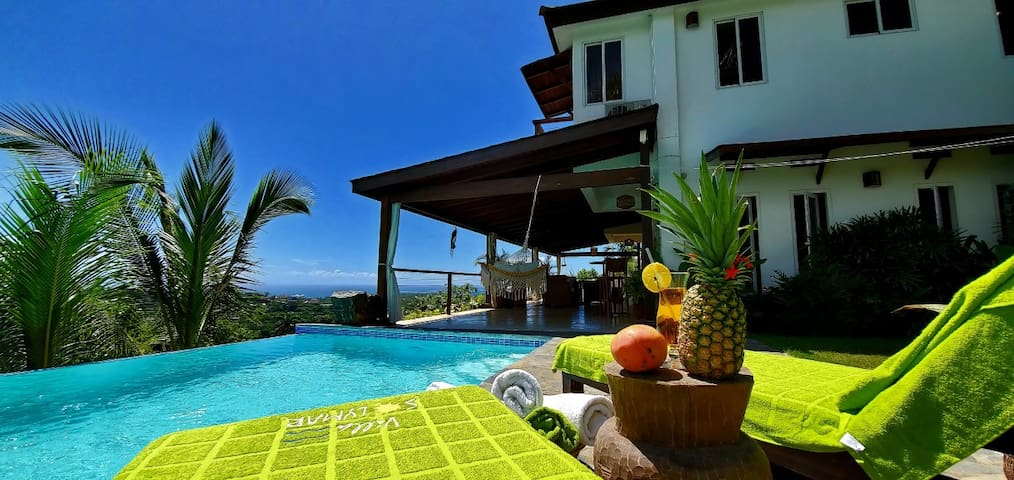 Villa Solymar...Amazing ocean and jungle view!