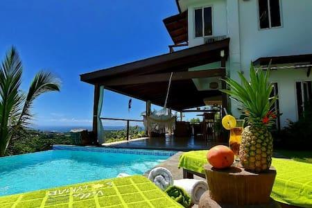 Villa Solymar...Amazing ocean and jungle view!