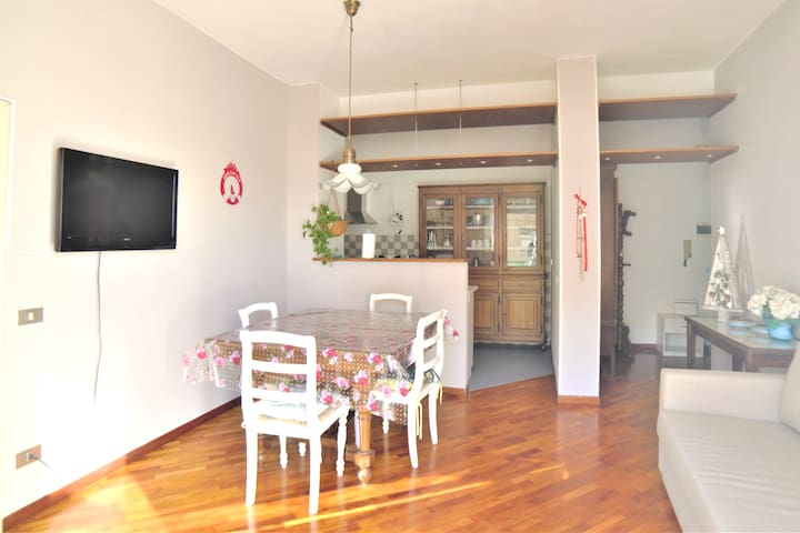 Andrea's Charming  house in Florence + parking