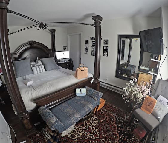 Charming bedroom - Chappaqua - Appartement