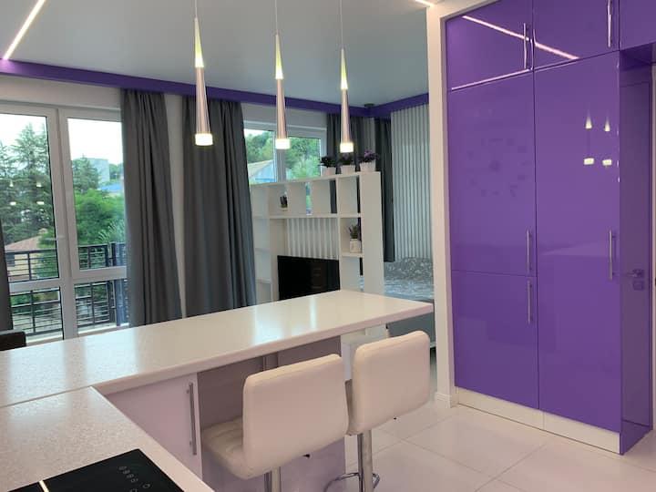 Дизайнерская Квартира с большой террасой