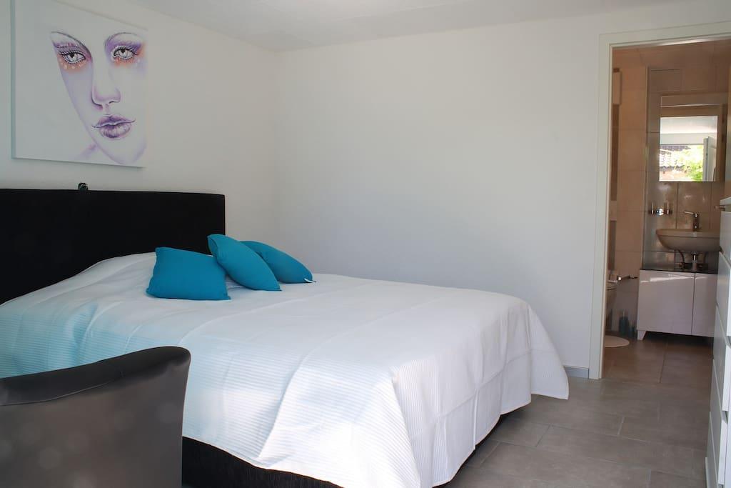 Chambre avec salle de bains dans complexe 04 chambres for Chambre hote 04