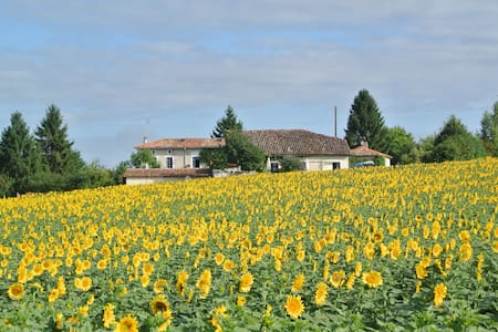 Gite La Fleurette and private annex - Brossac