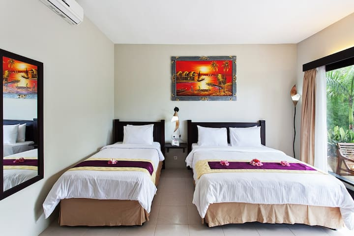 Playful room for 3 in Lombok - Batu Layar - Byt