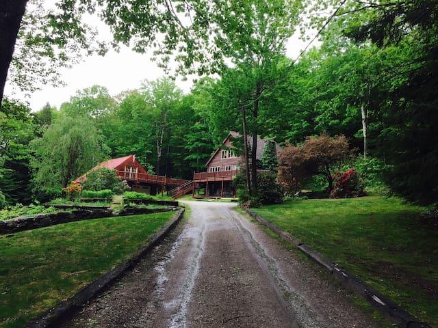 HoneyBear Cabin and The Old Bear's Den