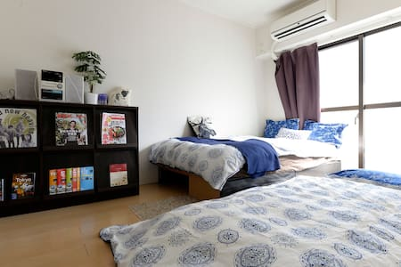 NEW OPEN!3 min to NAKAMEGURO Sta.2 Stops SHIBUYA - 目黒区 - Appartement