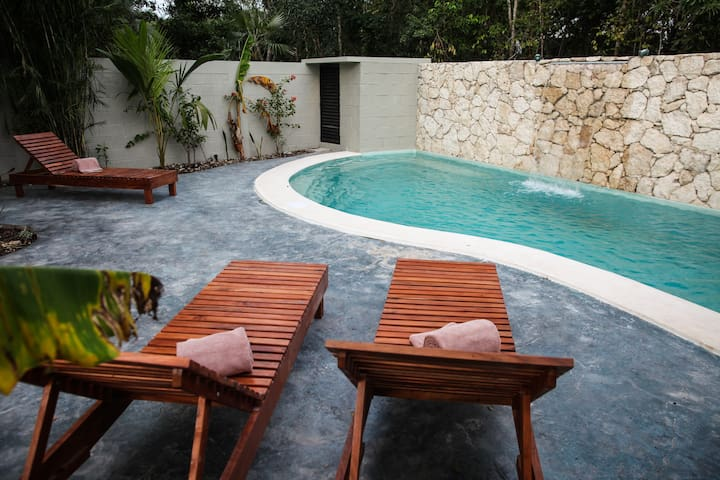 Casa Mar y Tierra, 3 bdr, private pool and garden