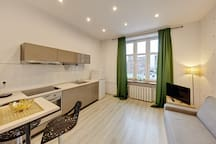 A wonderful apartment in the center of Katowice