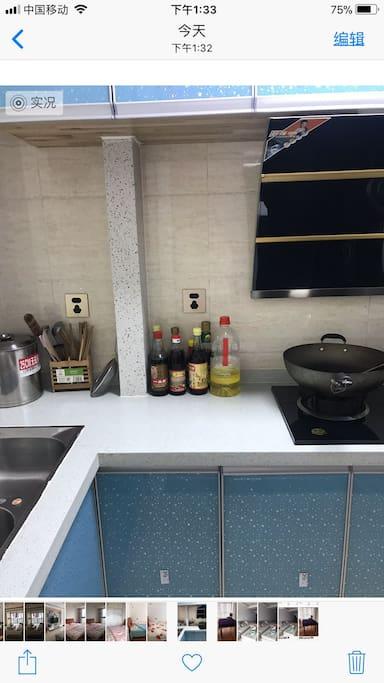厨房用品齐全