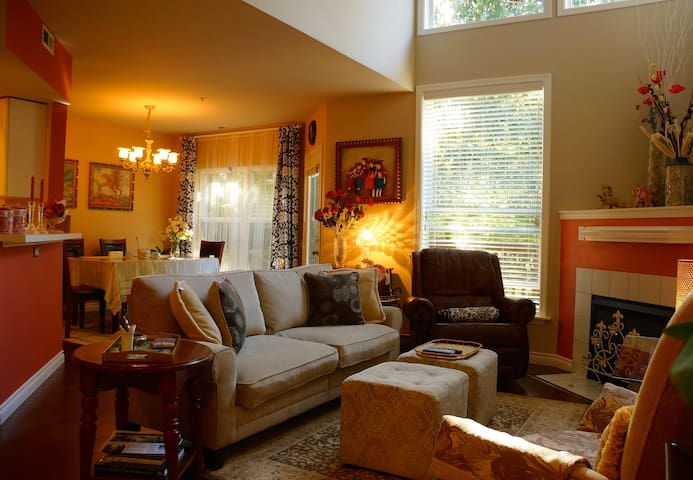 Cozy Bedroom and Convenient Location
