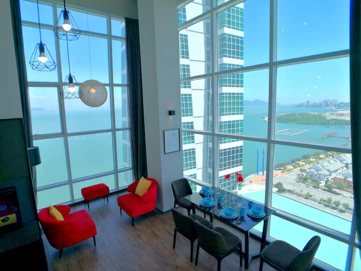 海岸线海景 Coastline Seaview Seaside Maritime Suite 23
