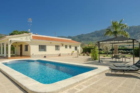 Outstanding Villa in Valencia on Mountain with Private Pool