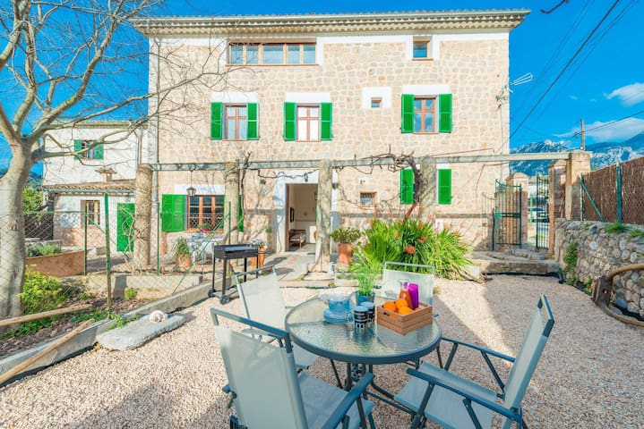 CAN RAIA - Chalet for 6 people in Soller.
