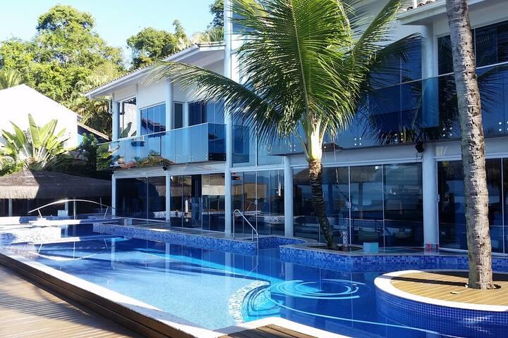 Ang015 - Villa moderna de playa en Angra dos Reis - Angra dos Reis - Villa