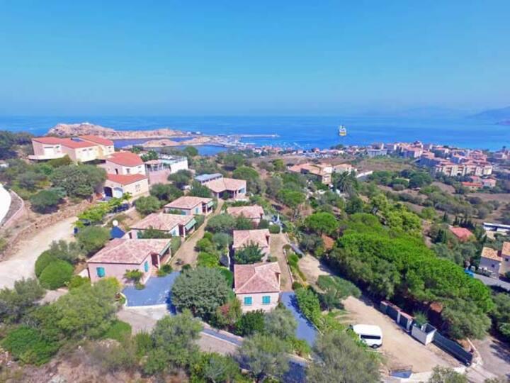 Villa 2 chambres Plus - Vue mer et montagne